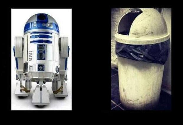 R2D2 is megöregedett