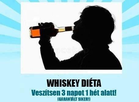 whiskey diéta