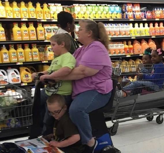 Családi bevásárlás